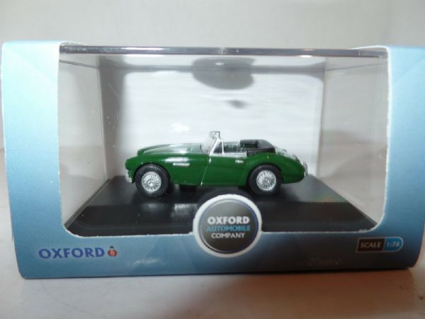 Oxford 76AH3004 AH3004 1/76 OO Scale Austin Healey 3000 British Racing Green